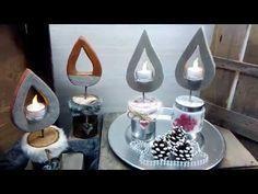 Beton Kerze /Flamme einfach selber machen  Beton Kerze /Flamme einfach selber ma…,  #advent…