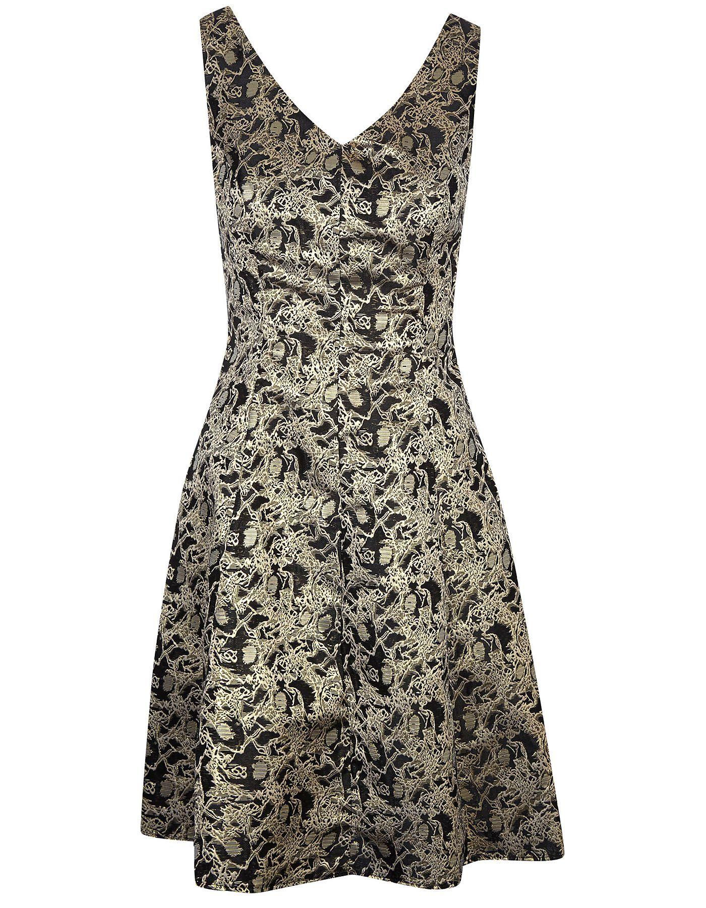 Metallic Jacquard Dress | Women | George at ASDA