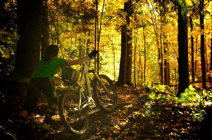 Marquette Mountain [Marquette] Some of the best downhill biking and fall hiking in the area!