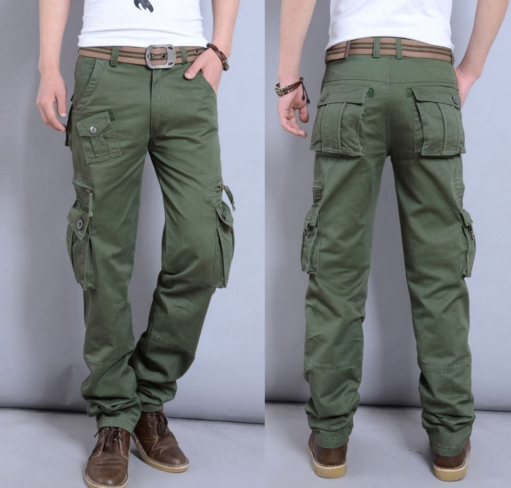 cargo work pants for men