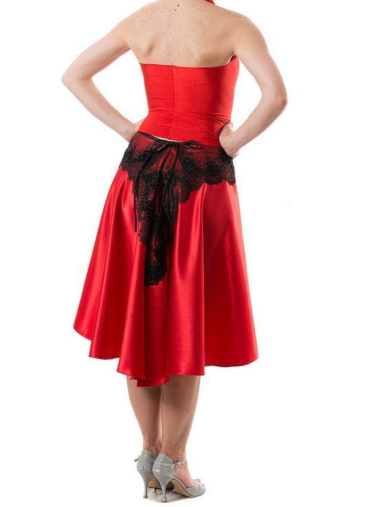 Argentinische Tango Rock - Madame Yolanta. Solide rote ...
