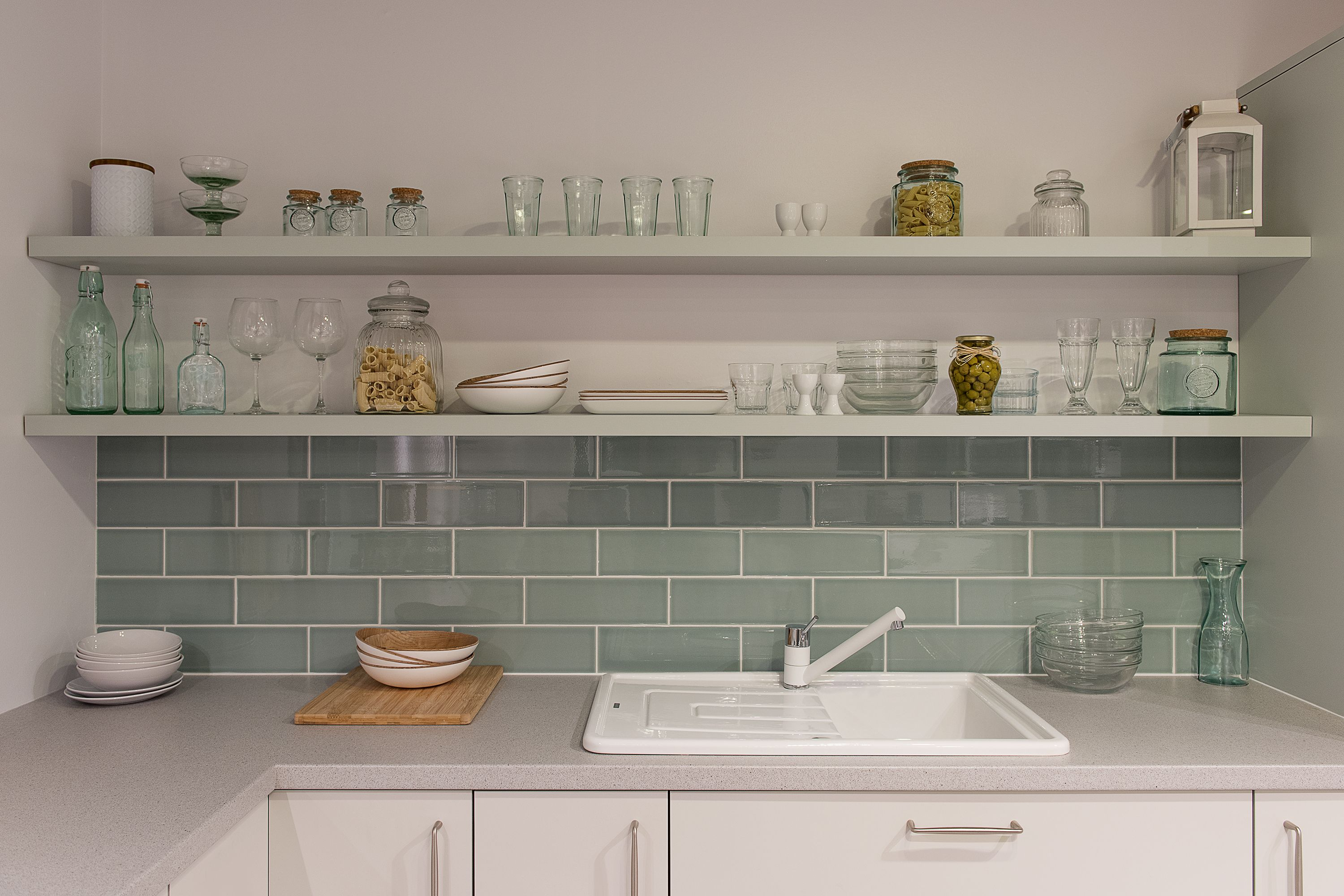 Pale Green Ed Kitchen Ideas Cabinets
