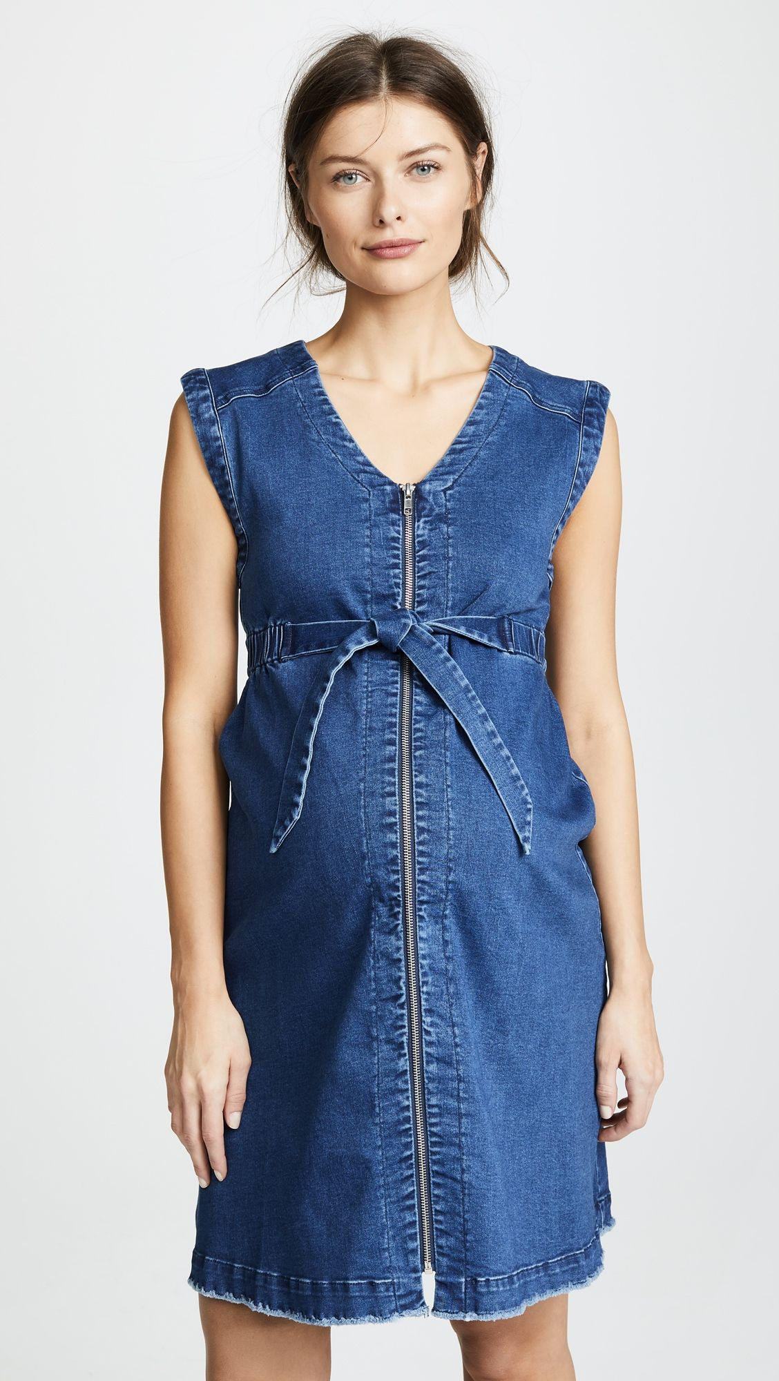 45a7ca1192 Ingrid   Isabel Zip Front Denim Dress