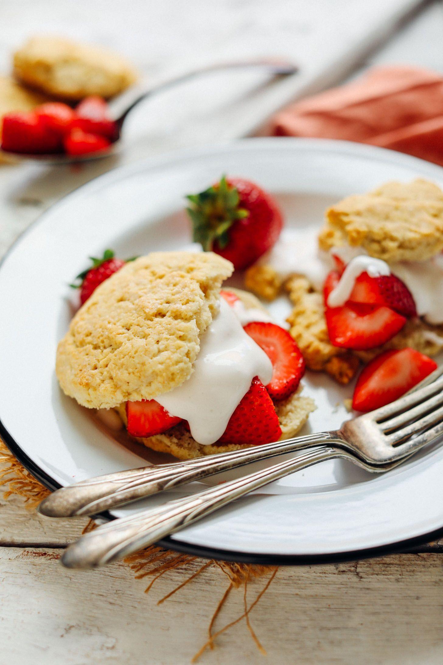 Perfect Strawberry Shortcake Vegan Gf