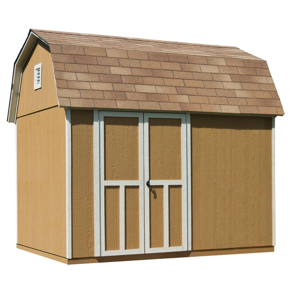 10 Ft X 8 Ft Briarwood Shed With Floor Diy Shed Plans Wood Storage Sheds Wood Shed Plans