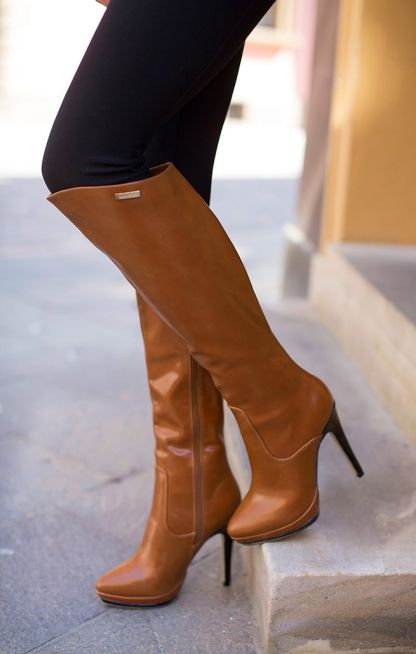 Eleganckie Kozaki Na Szpilce Shoes Boots Clothes Design