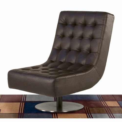 Incredible Jazz Swivel Armless Tufted Chair For The Home Leather Uwap Interior Chair Design Uwaporg