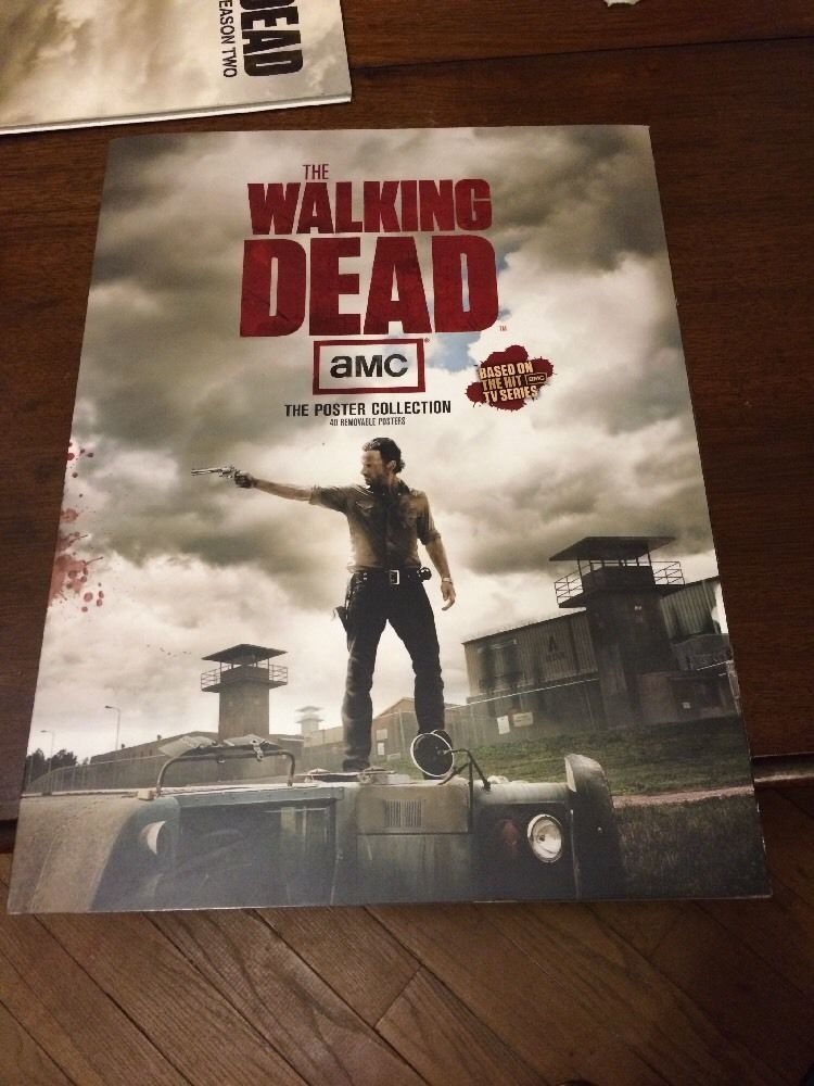 The Walking Dead Poster Book Forty 40 Removable Posters from $10.0