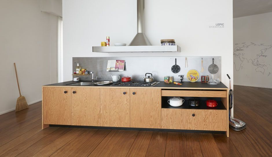 Lepic kitchen by jasper morrison schiffini eurocucina