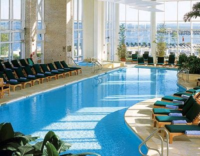 Wintergarden Pool At The Hyatt Regency Chesapeake Bay
