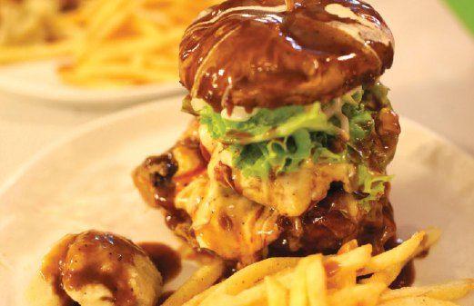 Istimewa Burger Bakar 25 Inci Resep Makanan Makanan Restoran