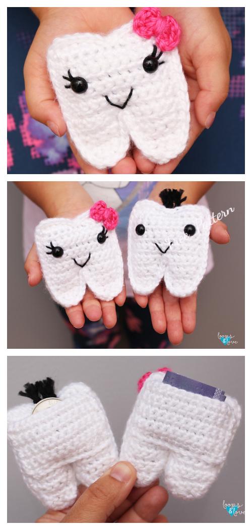 Crochet Tooth Fairy Pillow Free Crochet Patterns