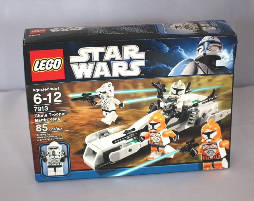 Lego Star Wars Clone Trooper Battle Pack 7913 Minifigures ARF ...