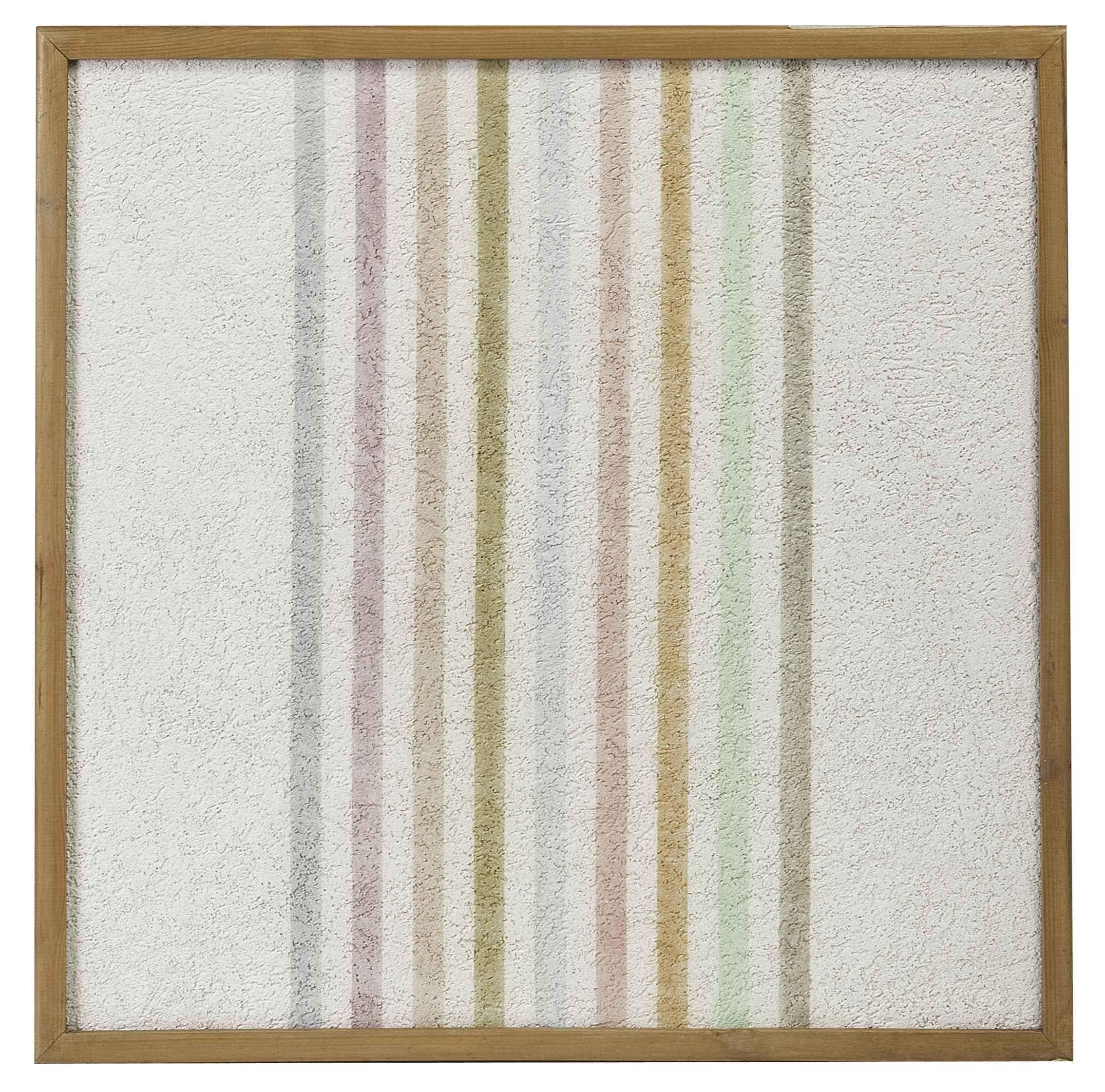 Elio Marchegiani, Grammature di colore - supporto intonaco n.54, 1974