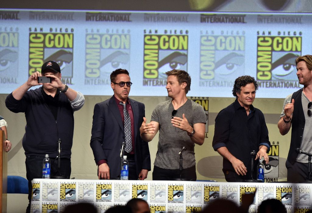 Jeremy Renner Photos - Marvel Studios Panel - Comic-Con International 2014