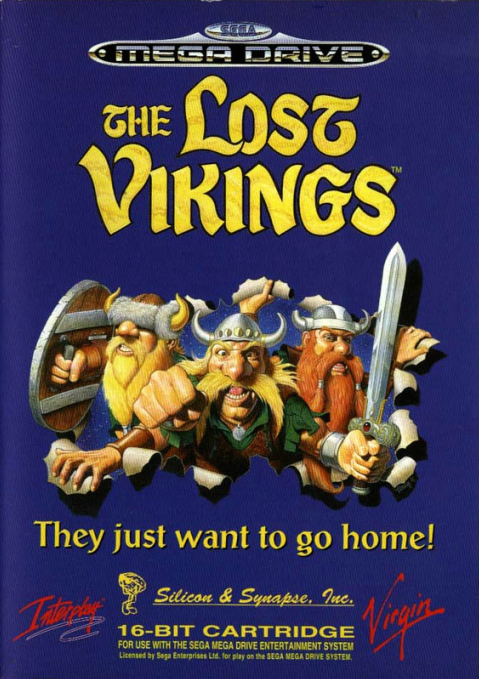 The lost vikings megadrive acheter vendre sur r f rence gaming game cover pinterest - World of warcraft sur console ...