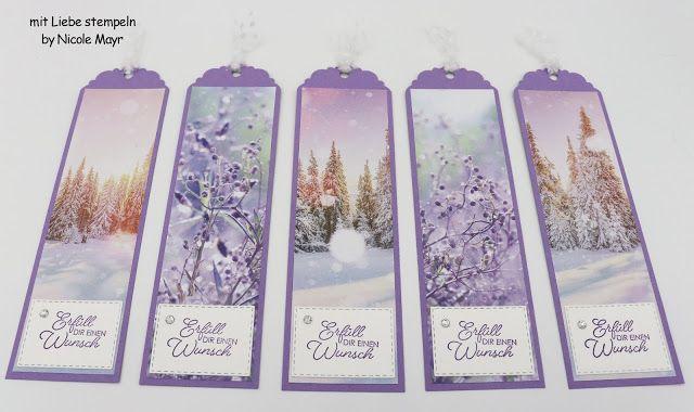 Stampin`Up! kleines Geschenk zum neuen Herbst-/Winterkatalog für meine lieben Kunden! #stampinup!cards