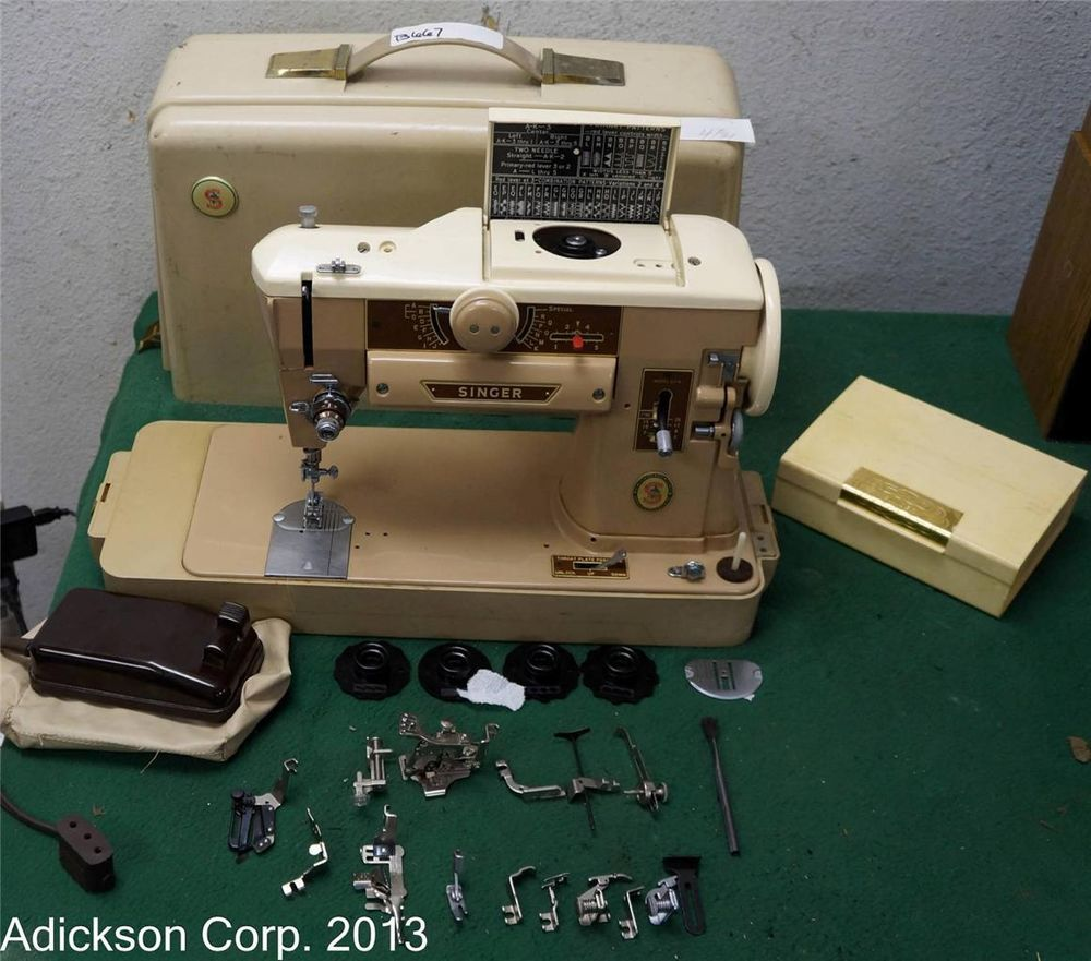 Just Bought This Singer 401a Sewing Machine On Ebay Thanks To The