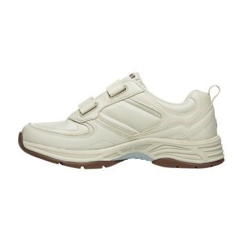 Propet Women's Eden Strap Narrow/Medium/Wide Walking Shoes (Sport White  Leather)