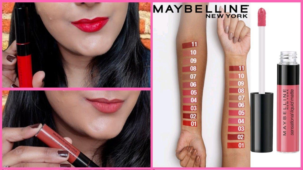 38++ Maybelline sensational lipstick swatches inspirations