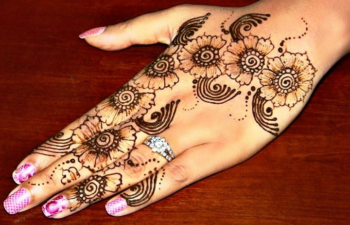 Latest Flower Mehndi Design : Pin by adrienne seay on mehndi designs mehendi