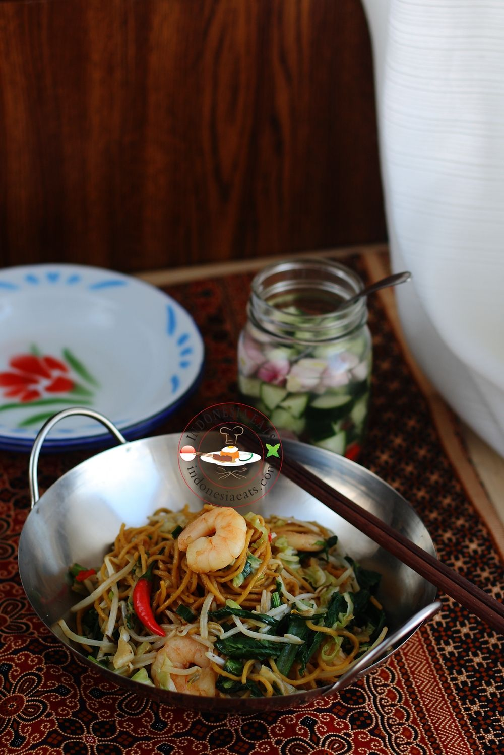 Indonesian Food, e. g. Mie Goreng (Indonesian Fried Noodle