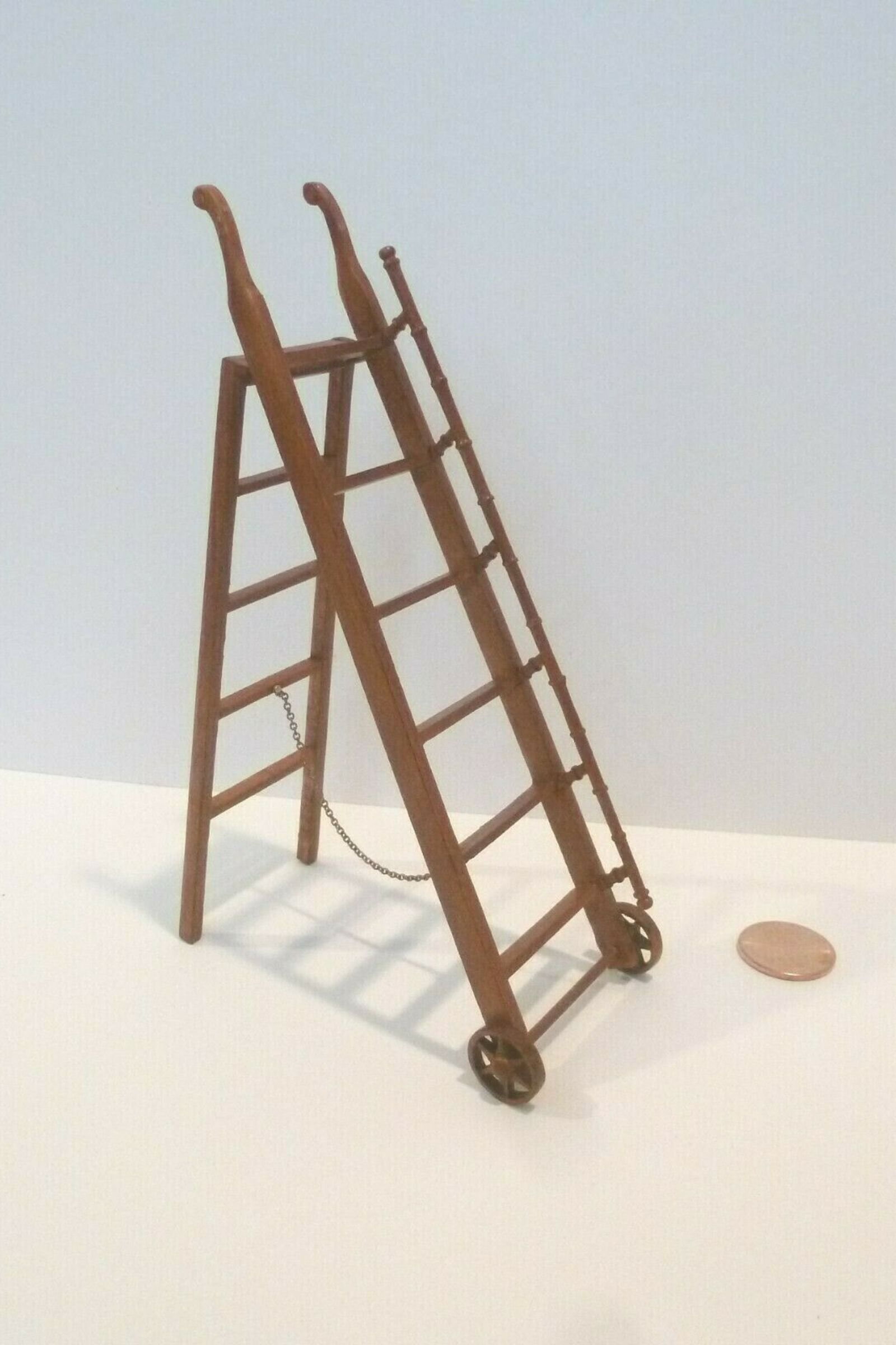 MDF Wood Ladder Staircase Embelishments for Garden Decor//Dollhouse Miniature