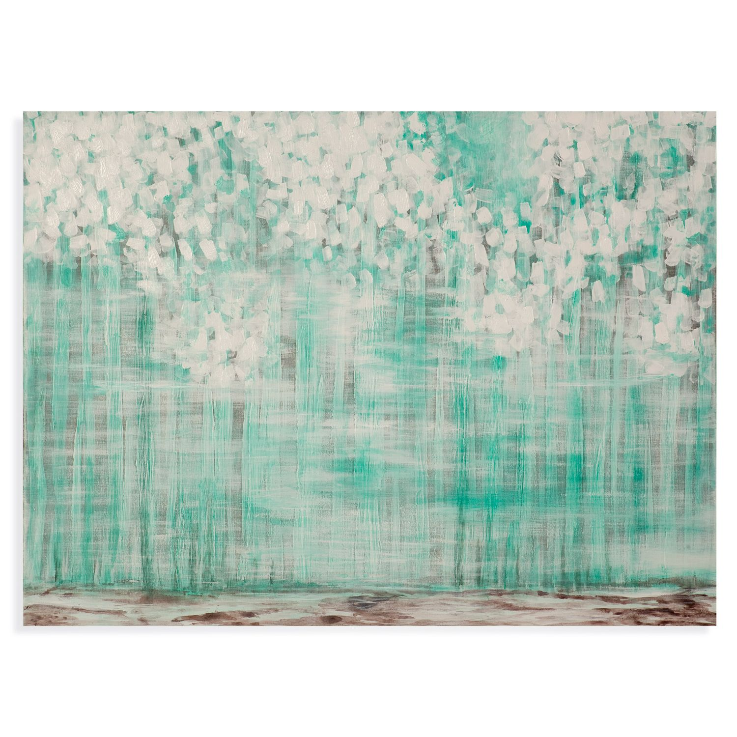 Turquoise Trees Wall Art #Zincdoor
