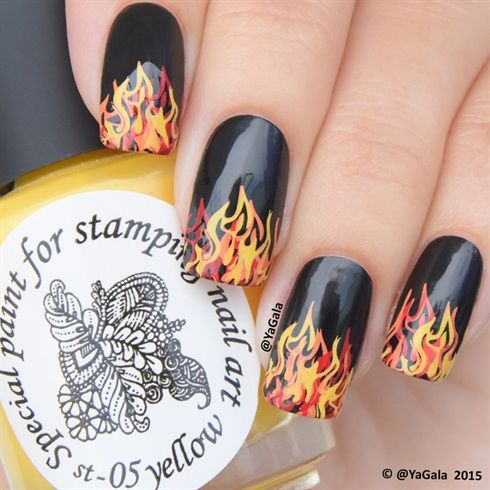 Hunger Games Nail Art By Yagala From Nail Art Gallery Out There
