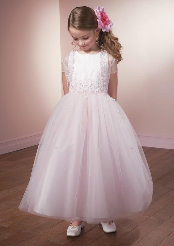 1ae10714e Fotos de vestidos para niñas- Cortejo de bodas