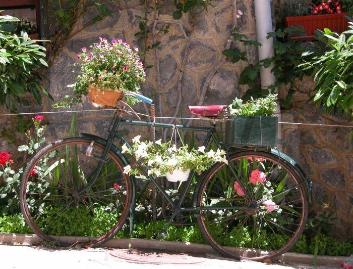 rostige gartendeko gartendekoration gartendeko selbstgemacht, Gartenarbeit ideen