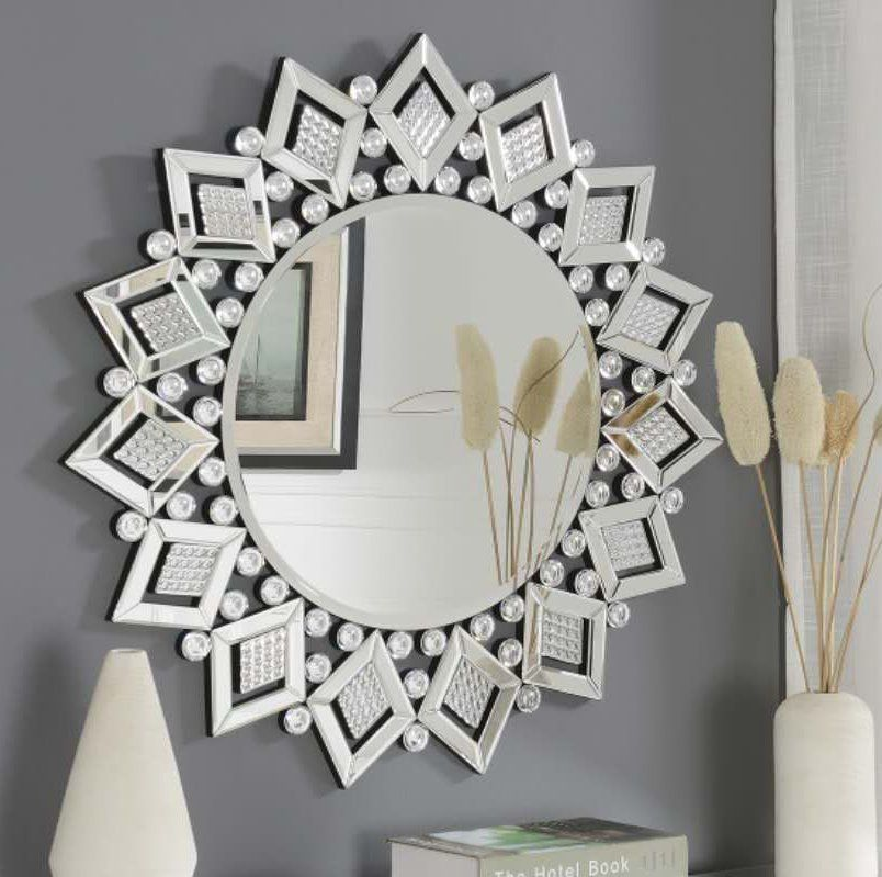 Badgley Star Accent Mirror Mirror Ornate Picture Frames Accent Mirrors