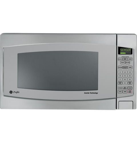 Ge Profile 2 2 Cu Ft Capacity Countertop Microwave Oven Ge