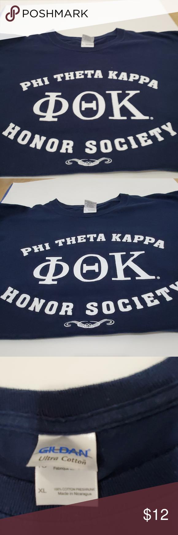 Unisex Phi Theta Kappa Honor Society T Shirt Phi Theta Kappa Honor Society Kappa