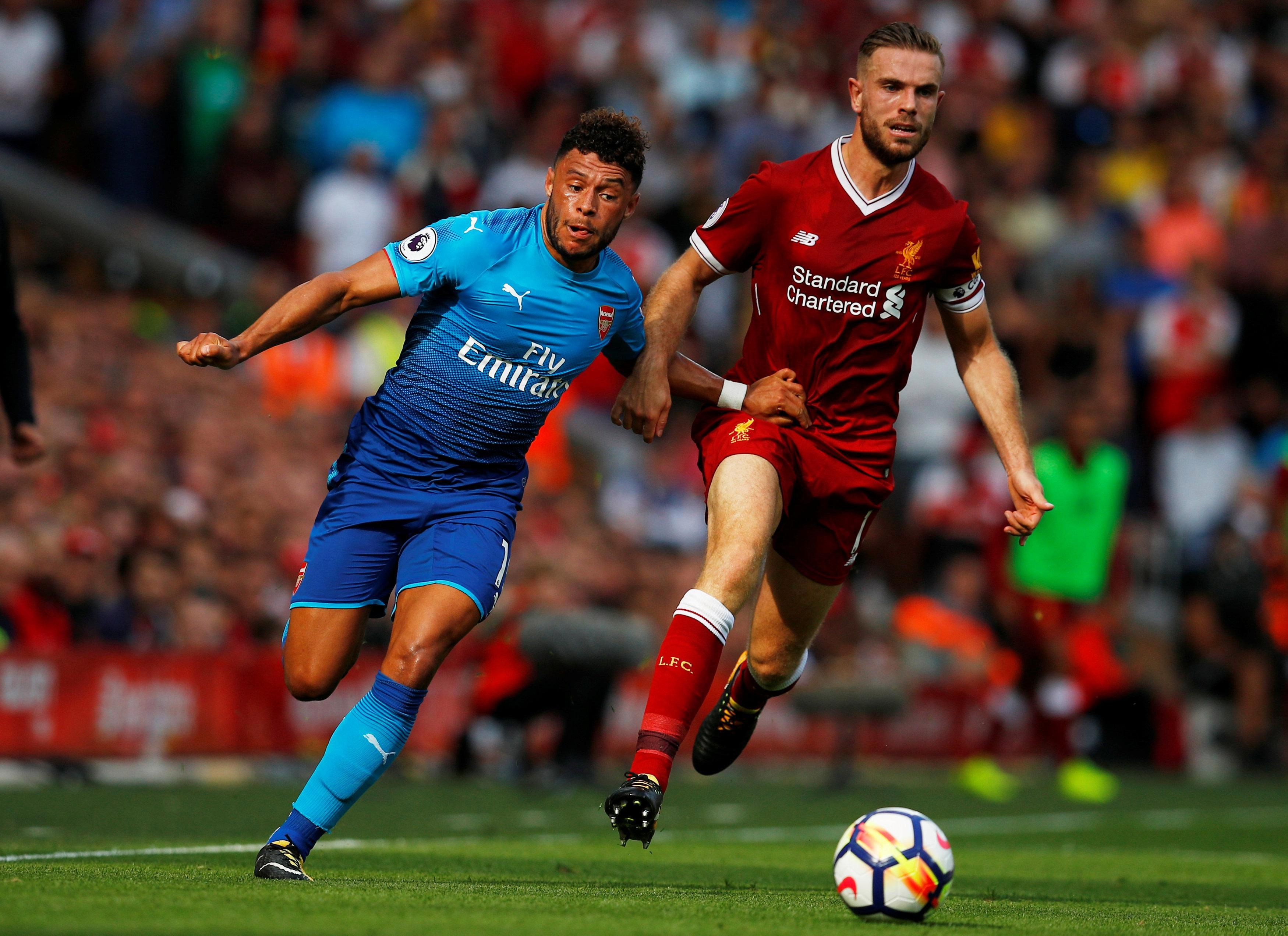 Arsenal VS Liverpool set to play Premier League on