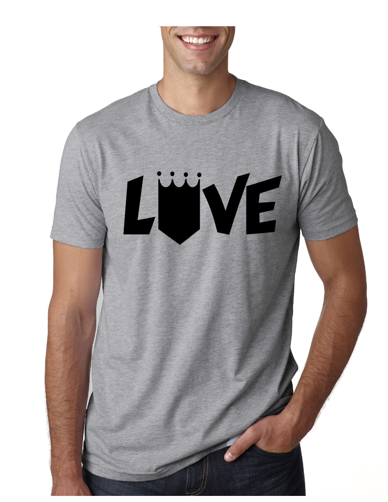 timeless design c5858 e237b Kansas City Royals Love - Classic Tee - Heather Grey Represent Kansas City  today, with our Local KC Apparel   Merchandise. - Visit our website for  more!