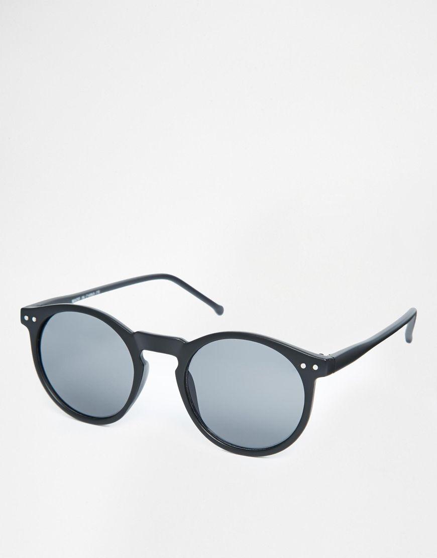 e9d1323acb Imagen 1 de Gafas de sol con montura redonda fina de ASOS