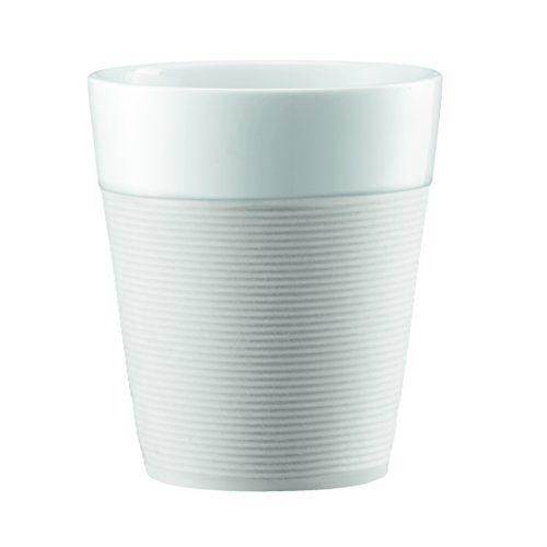 Bodum Bistro 2 Piece Mug with Silicone Sleeve 03 L White ** For more information, visit image link.