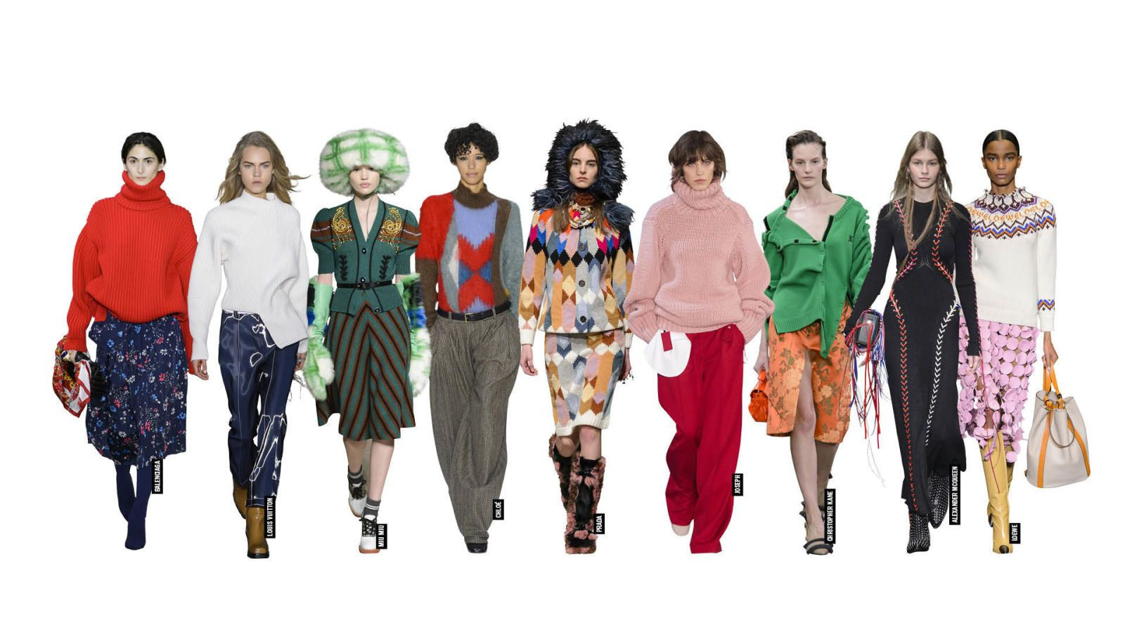 8 Top Trends To Take Away From The Autumn/Winter 2017