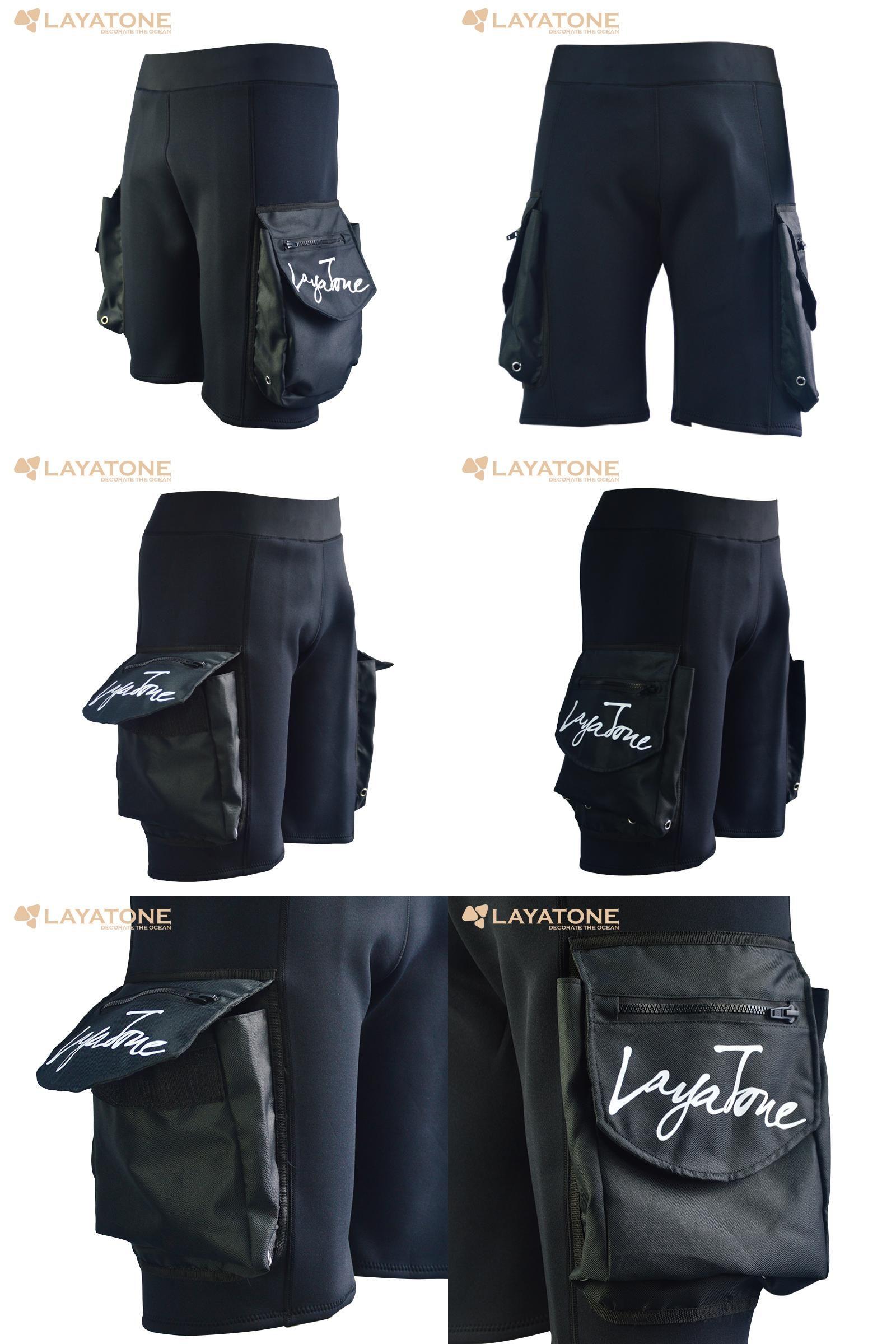 be1fe4b09c5  Visit to Buy  Freeshipping Layatone Black 3mm Neoprene Shorts Snorkel Diving  Surfing Fishing Pants