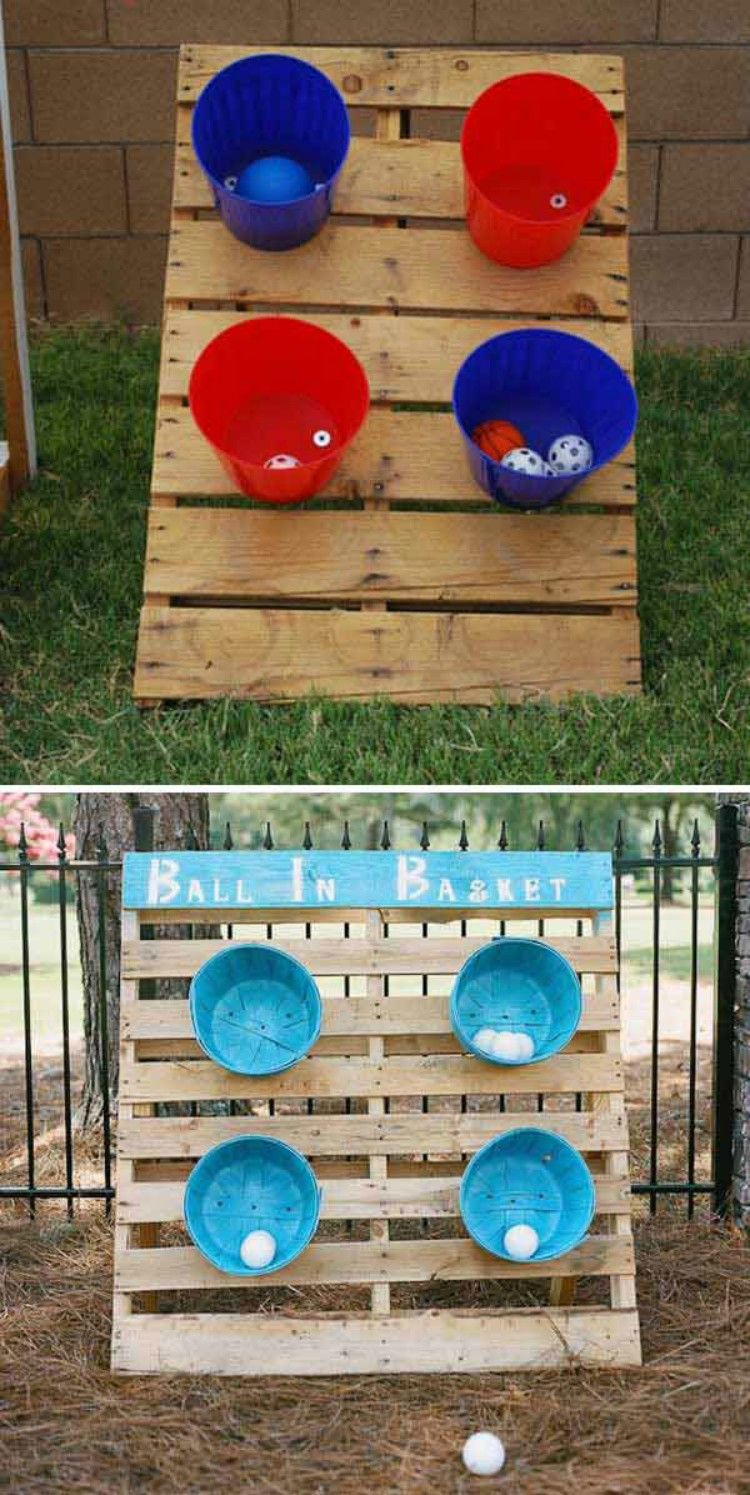 21 Pallet DIYs for Summer That Your Kids Will Love