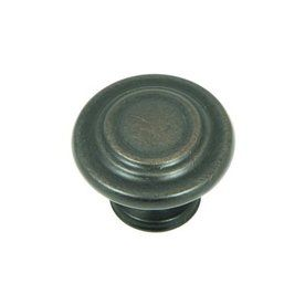 stone mill hardware princeton oil rubbed bronze round cabinet knob