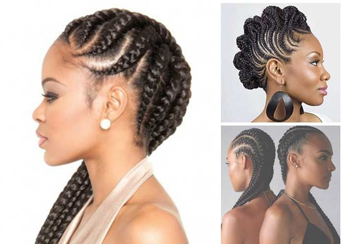 How To Braid Cornrows Step By Step Tutorial Types Of Hair Braids Braids With Extensions African Hair Extensions