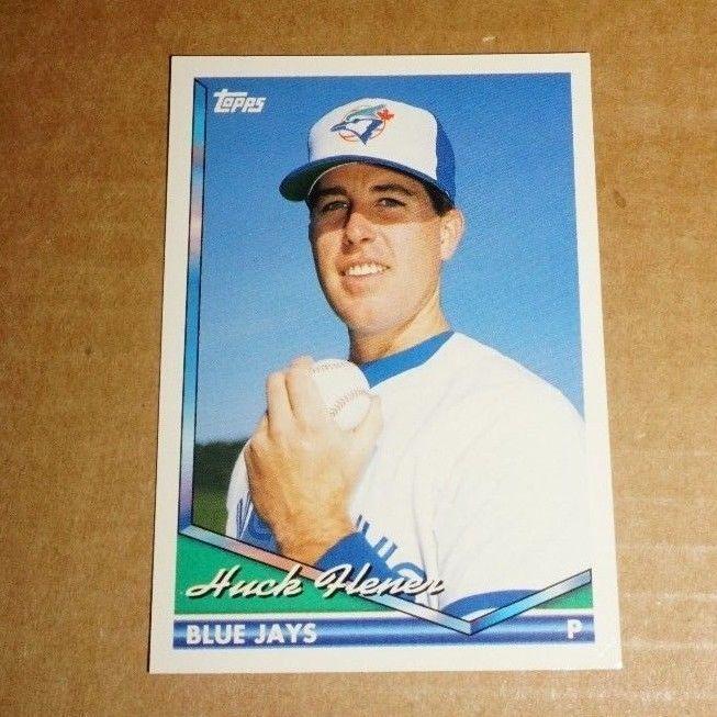 1994 Topps Baseball Card Huck Flener 39 Beautiful Condition