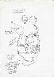 Make a Clanger . pages from the priginal BBC instructions