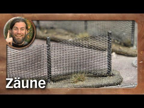 Tutorial: Zäune / wire fences (Tabletop-Gelände, TWS)