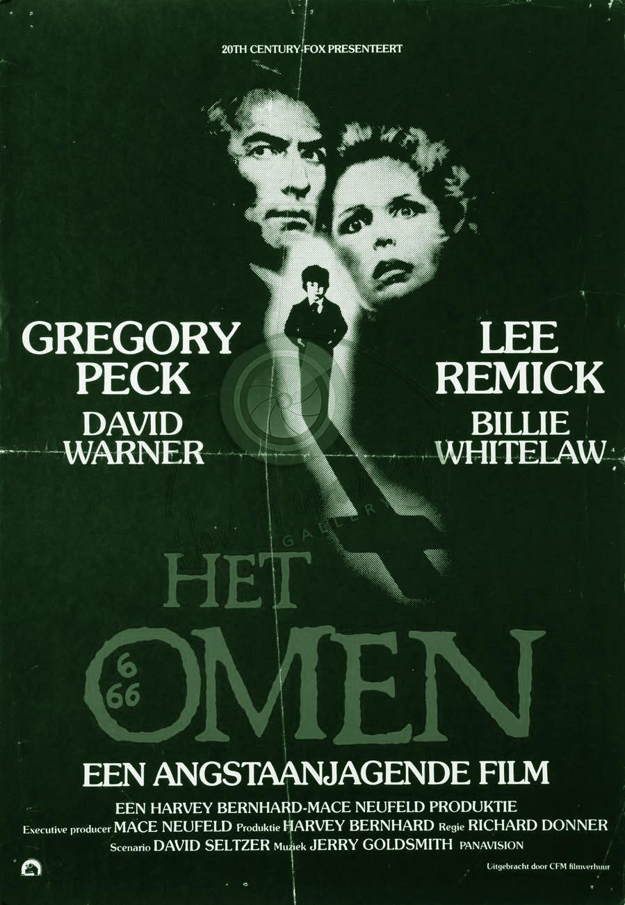 THE OMEN (1) is een Amerikaanse speelfilm uit 1976, uitgebracht door 20th Century Fox en geregisseerd door Richard Donner. De titel The Omen is afgeleid van het Latijnse woord: omen dat voorteken betekent. In dit geval gaat het om een slecht voorteken, namelijk de voorspelling van de komst van de antichrist en dus ook de komst van de Apocalyps. Hoofdrollen worden gespeeld door Lee Remick en Gregory Peck.