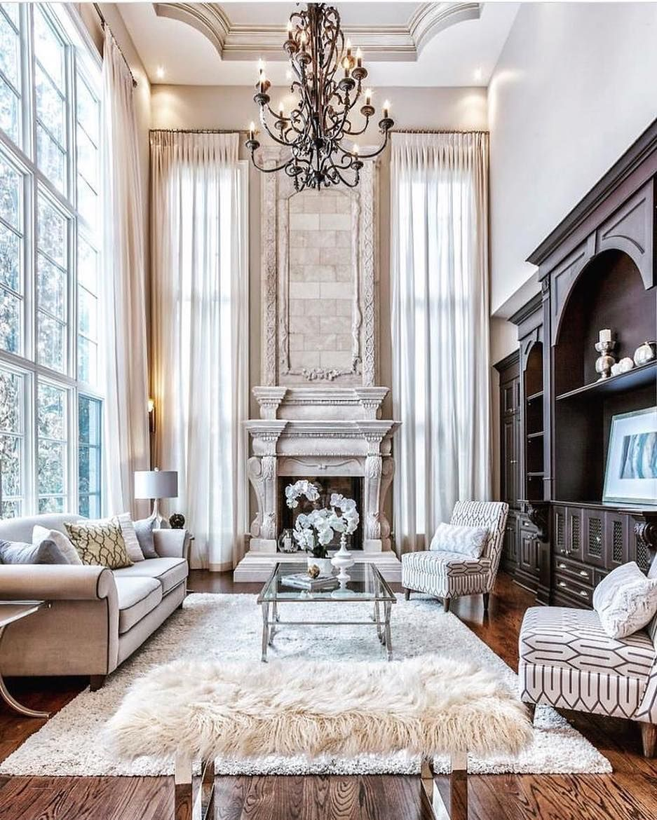 Luxury Living Room Instagram Post By Lux Luxe Luxury Dec 22 2018 A Elegant Living Room Decor Mansion Living Room Mansion Living