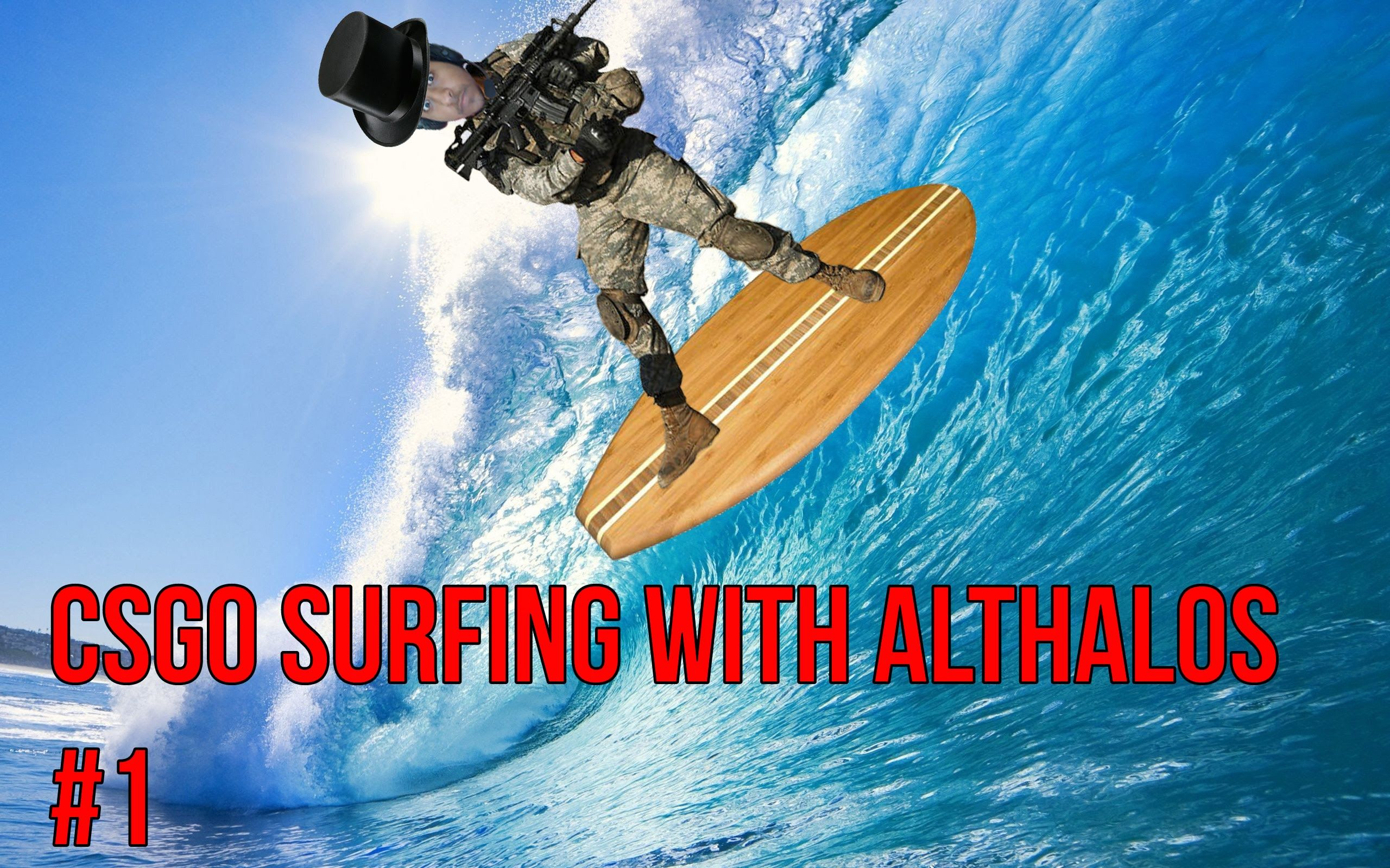 I ME SELF DE LE SURF CSGO Surfing 1 (WARNING VERY BAD