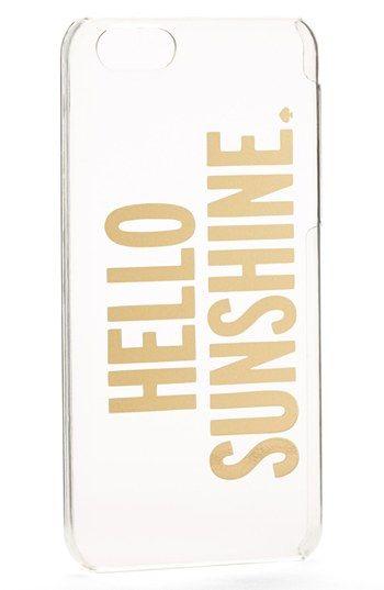 kate spade new york 'hello sunshine' iPhone 5c case